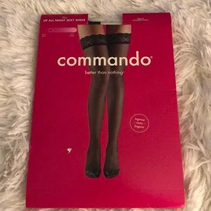 Commando better than nothing stockings